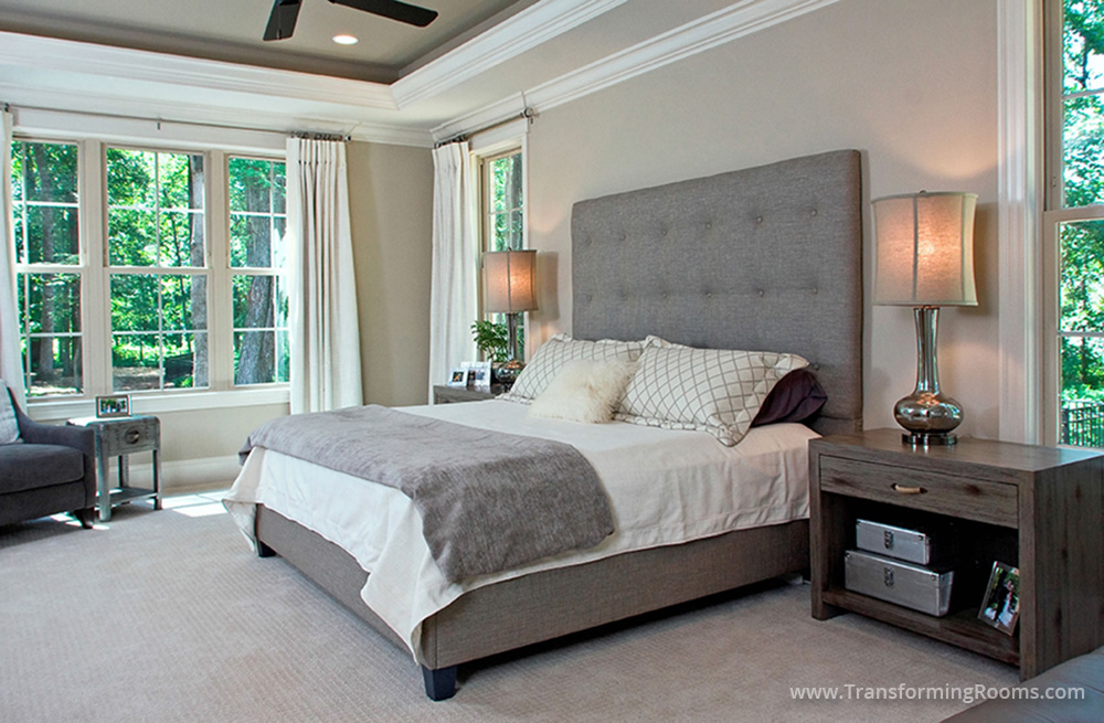 Interior Design Greensboro Uphoulstered Bed Oakridge NC Bedroom - Oakridge bedroom furniture